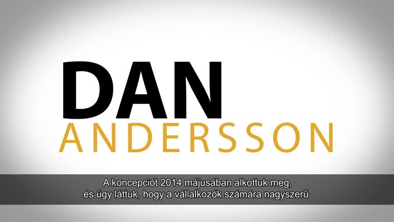 DAN ANDERSSON INTRODUCES LEOCOIN - HUNGARIAN