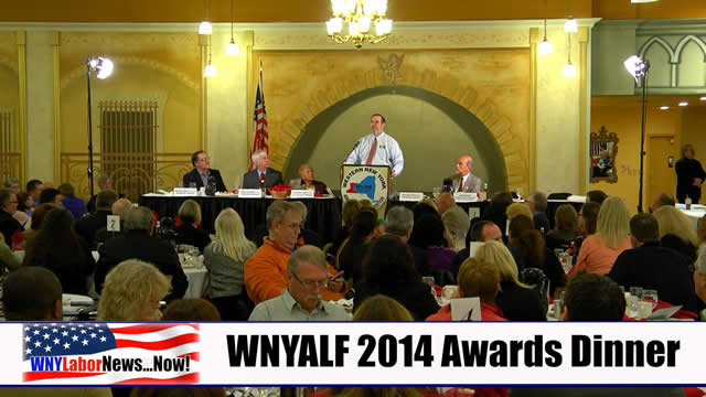 Western New York Labor News� NOW! - WNYALF 2014 Awards Dinner