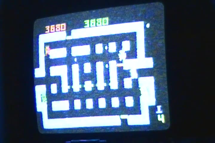 Intellivision - Lock 'N' Chase - NTSC/PAL - Default Settings - 50,240 - Jared Bresee