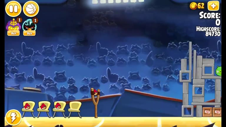 Android - Angry Birds Seasons - Ham Dunk (inc. All Stars & The Finals) - 1-1 - 87,040 - Rodrigo Lopes