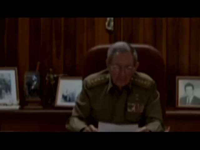 Video: Morte di Fidel Castro: l'annuncio di Raul