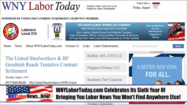 Western New York Labor News� NOW! - (August 2013 Edition) - Segment IV