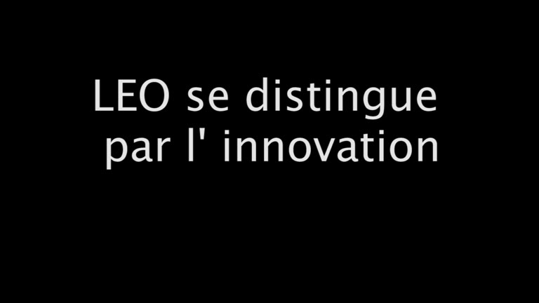 Innovation Sets LEO Apart (French)