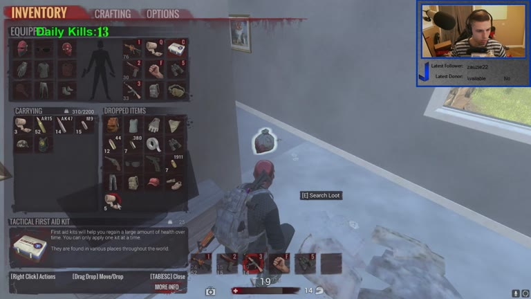 PC - H1Z1 - King of the Kill [Most Kills - All Weapons - Solo] - 14 - Jacob Crocker
