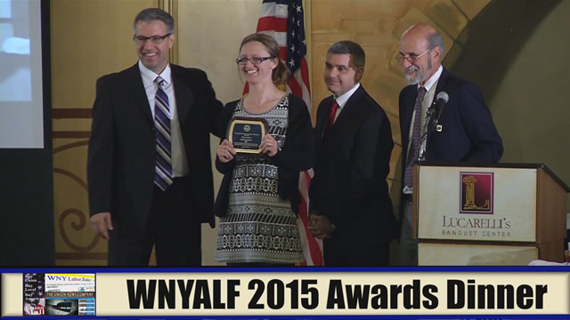 Western New York Labor News� NOW! - WNYLAF 2015 Awards Dinner