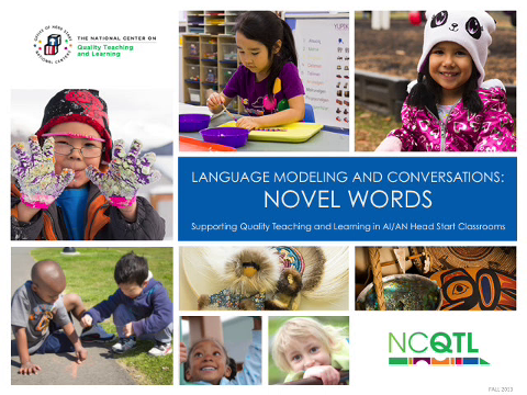 Language Modeling and Conversations: Novel Words