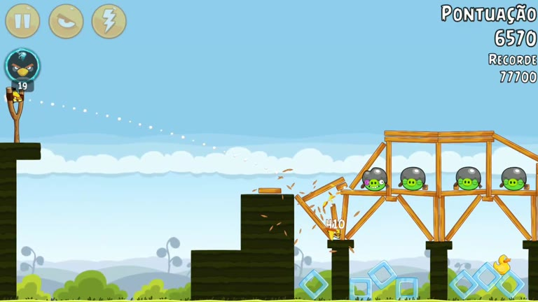 Android - Angry Birds - Mighty Hoax - 4-4 - 78,370 - Rodrigo Lopes