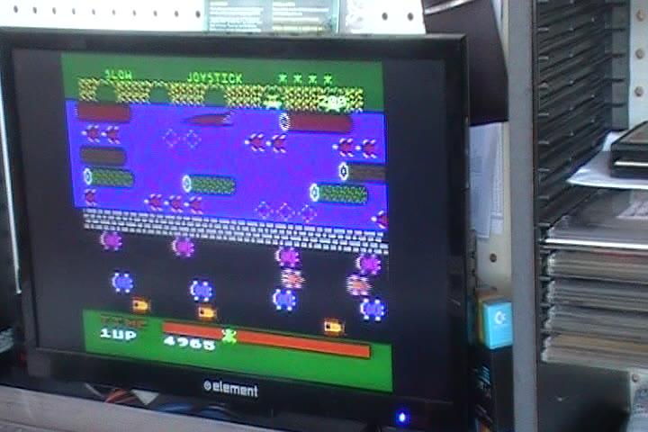 Atari 5200 - Frogger - Default Settings - 23,610 - John Marks