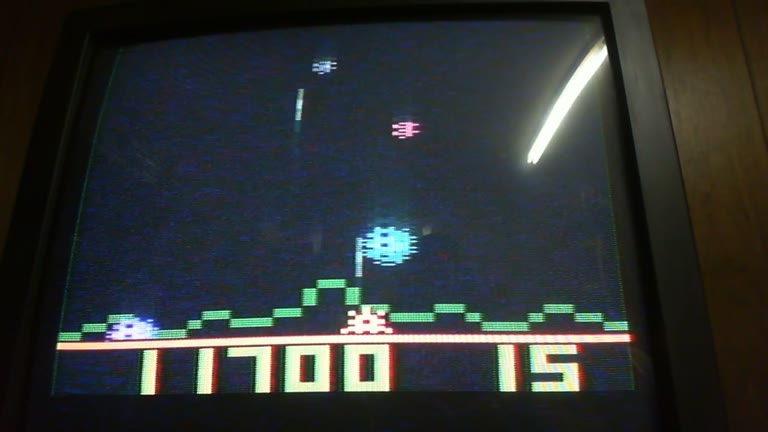 Atari 2600 / VCS - Astroblast - NTSC - Game 1, Difficulty A - 15-Minute Limit - 72,250 - glen sampson