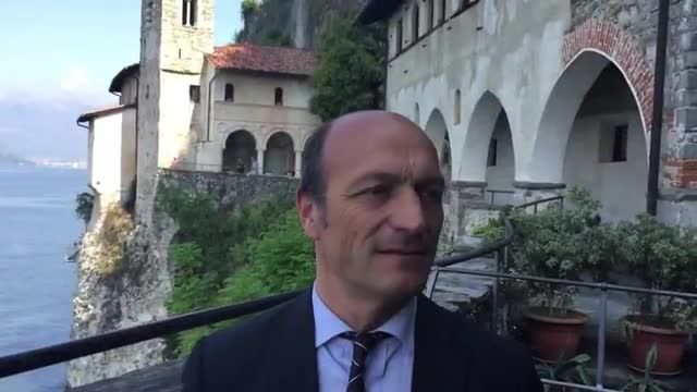 Video: Il presidente Vincenzi in visita a Santa Caterina