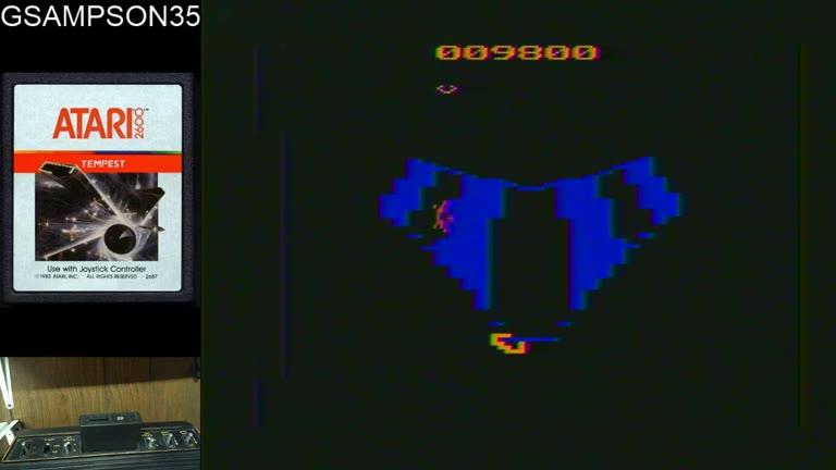 Atari 2600 / VCS - Tempest - NTSC - Game 1, Difficulty B - 25,850 - glen sampson