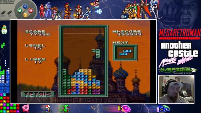 SNES / SFC - Super Tetris 3 - Points - 999,999 - Paul Tesi