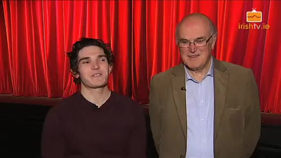 Francis (Fra) Fee and his Dad Frank talk about their love of acting