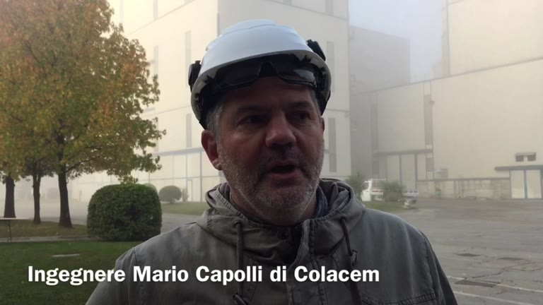 Video: Duecento studenti in visita alla miniera della Colacem