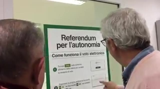 Video: Il voto elettronico per la prima volta in Italia