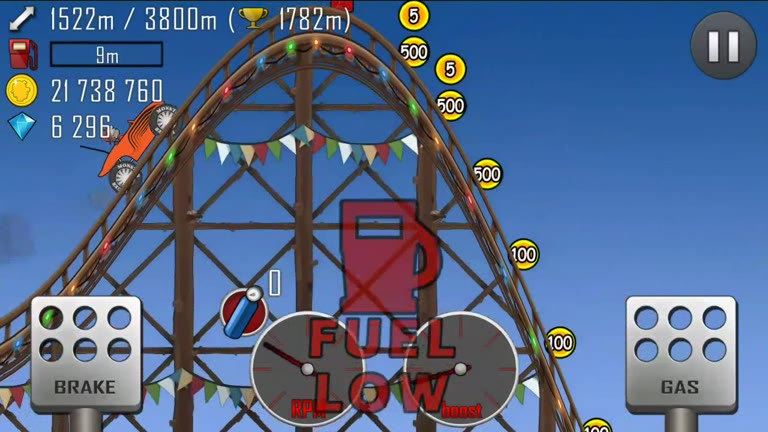 Android - Hill Climb Racing - Monster Truck - Roller Coaster [Distance] - 1,795 - Andrew Mee