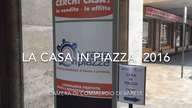 Video: La Casa in Piazza 2016
