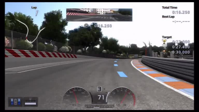 PlayStation 3 - Gran Turismo 5 - License Tests - A-2 - Fastest Time - 26.952 milliseconds - Shaun Michaud