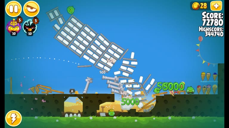 Android - Angry Birds Seasons - Pig Days - 1-4: Leaning Tower of Pisa Anniversary - 354,430 - Rodrigo Lopes