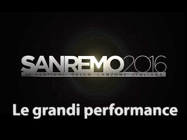 Video: Le grandi performance di Sanremo
