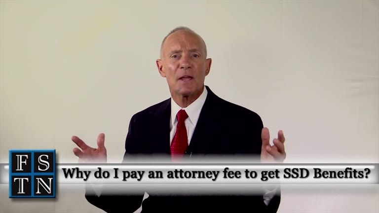 Why Do I Pay an Attorney to Get SSD Benefits?