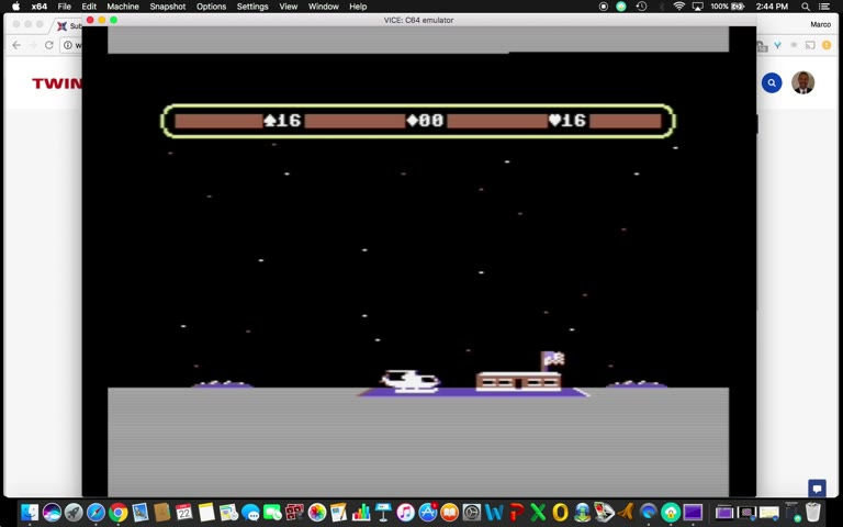 Commodore 64 - Choplifter - EMU - Points - - 60 - Marco Sandoval