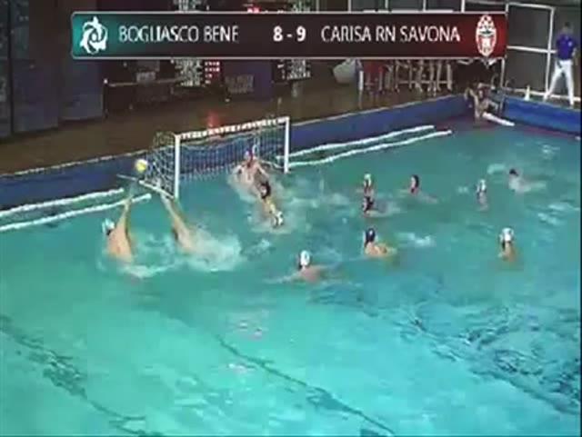 """Video: Il """"gol fantasma"""" del Bogliasco Bene alla Carisa Savona"""