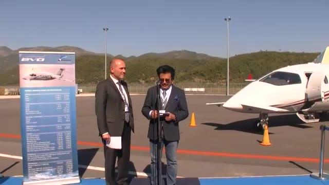 """Piaggio Aerospace, consegnato il primo """"Avanti Evo"""" prodotto a Villanova d'Albenga"""