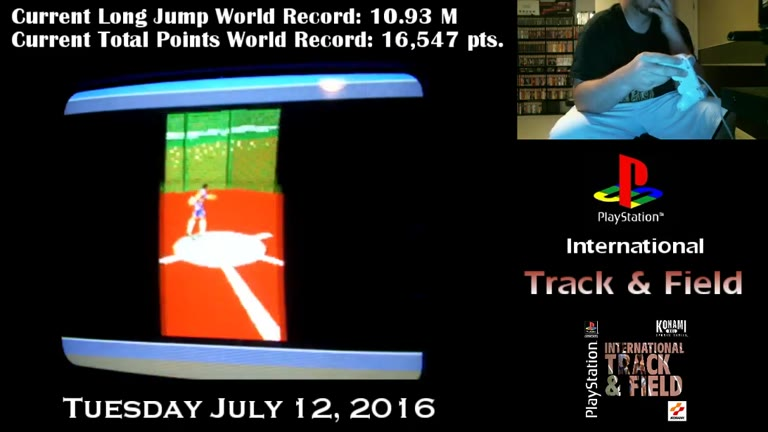 PlayStation - International Track and Field - NTSC - Total Points - Completion of all Events [Points] - 16,589 - Derek Ruble