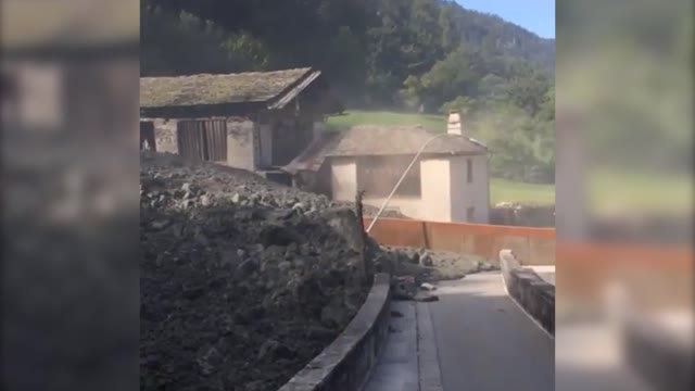 Video: La frana in Val Bregaglia