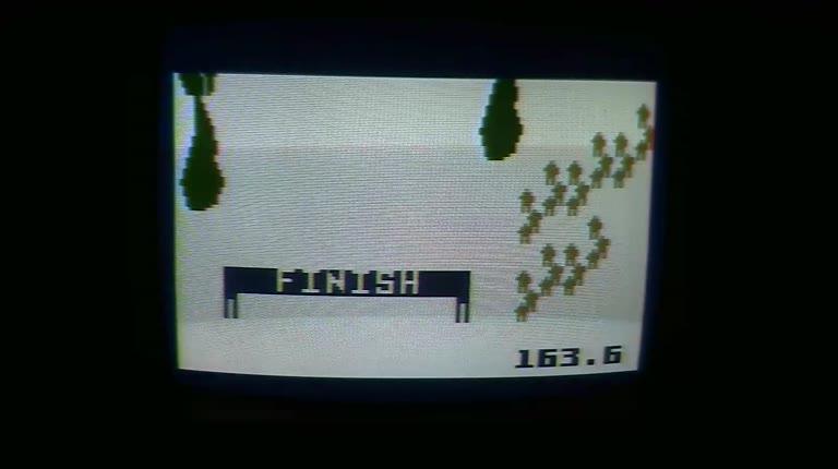 Intellivision - Skiing - NTSC/PAL - Slope 03 - Slalom - 01:43.6 - Roger 111