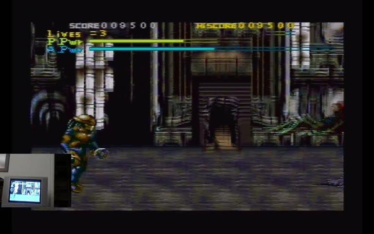 Super Nintendo Entertainment System - Alien vs. Predator - NTSC - Points - 641,900 - Joe Jackmovich