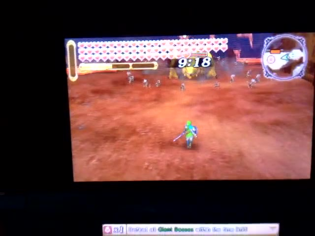 Nintendo 3DS - Hyrule Warriors Legends - Adventure Mode - Adventure Map - B7 - Defeat All Giant Bosses in Time! LV.1 [Clear Time] - 59.0 - Rodrigo Lopes