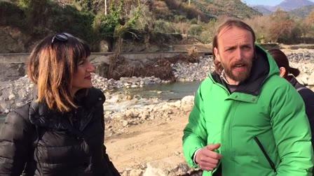 """Alluvione, la rabbia del sindaco di Cisano: """"Regione Mai vista, siamo cittadini di serie B?"""""""