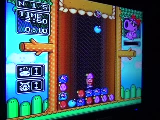 SNES / SFC - Wario's Woods - NTSC - Fastest Completion, 5 Rounds / Normal Mode - 02:45.0 - Ryan Genno