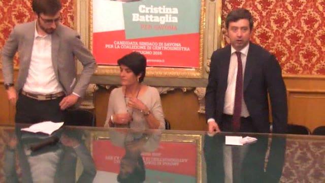 Video: Il ministro Orlando a Savona per Battaglia