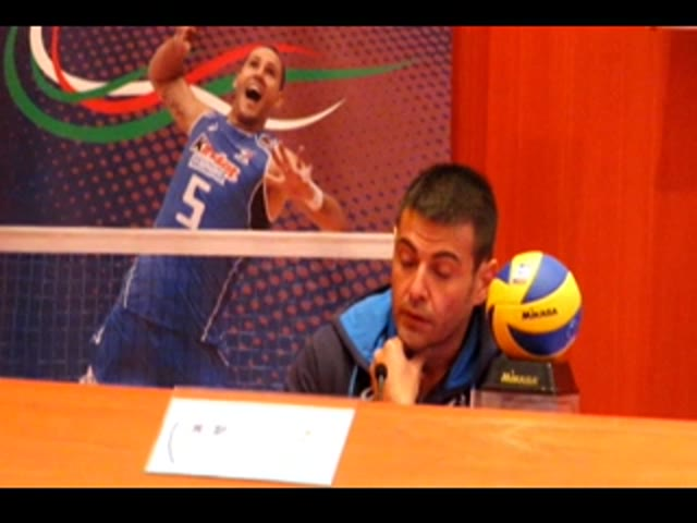 Video: Il ct azzurro Blengini presenta gli Europei a Busto