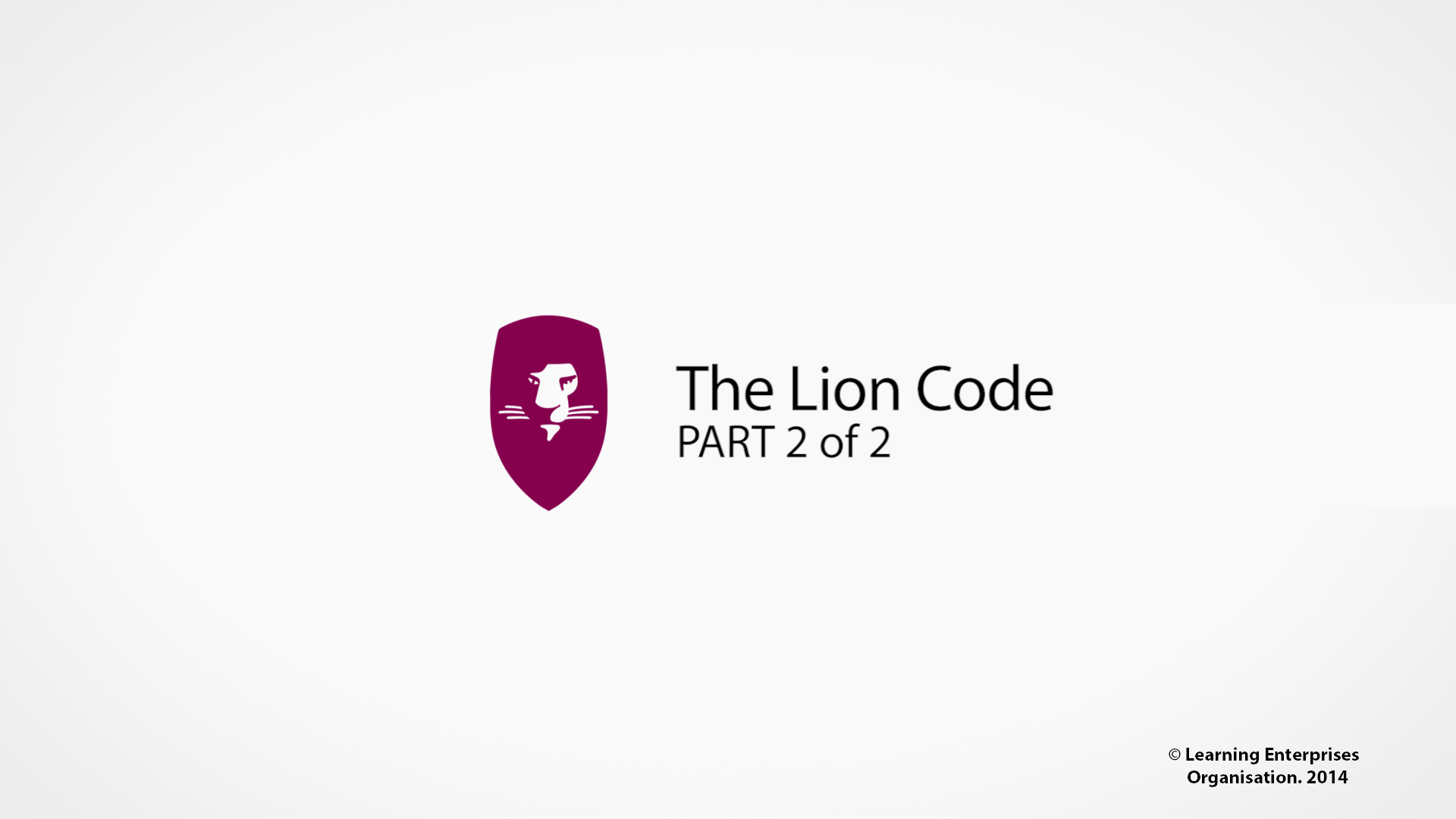 Dan Andersson - The Lion Code (Part 2 of 2) - Toronto 2014