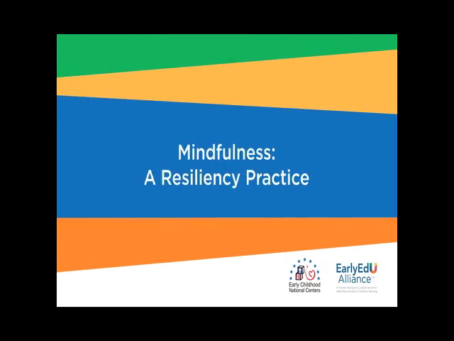 Mindfulness: A Resilience Practice
