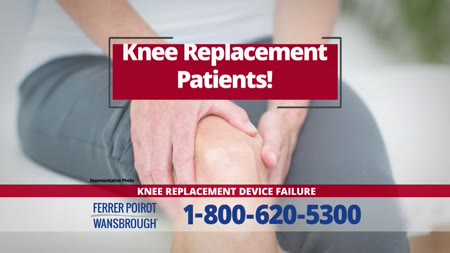 Replacement Knee Implant Complications | Ferrer, Poirot & Wansbrough