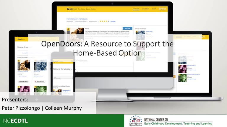 OpenDoors: A Resource to Support the Home-Based Option