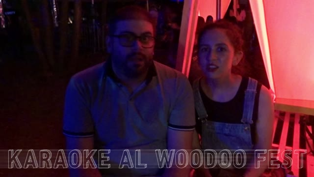 Video: Karaoke al Woodoo Fest
