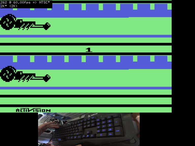 Atari 2600 / VCS - Dragster - EMU - Game 1, Difficulty B [Fastest Time] - - 05.71 - Andrew Mee