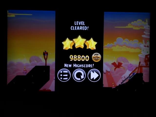 Nintendo Wii U - Angry Birds Trilogy - Angry Birds Classic - Birdday Party - 19-5 - 98,800 - Rodrigo Lopes