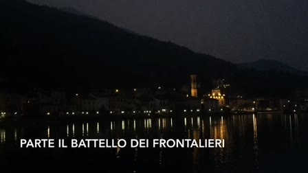 Video: Parte il battello dei frontalieri