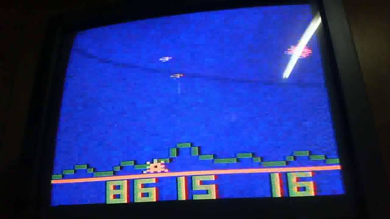 Atari 2600 / VCS - Astroblast - NTSC - Game 1, Difficulty B - 1,038,505 - glen sampson