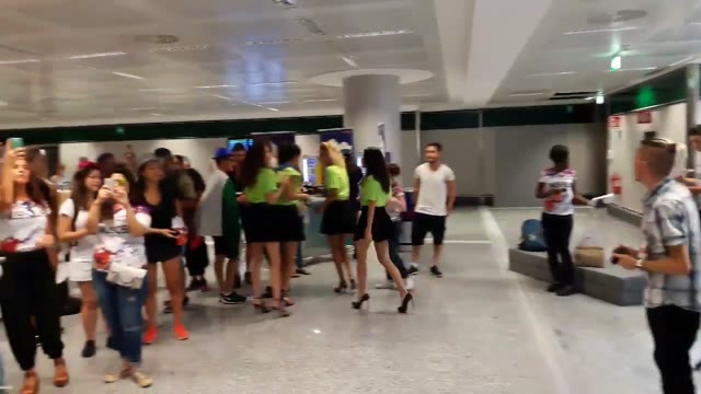 Video: Tomorrowland party a Malpensa