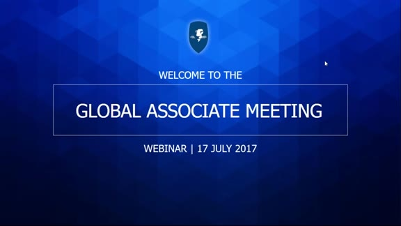 Global Associate Meeting 17 July 2017