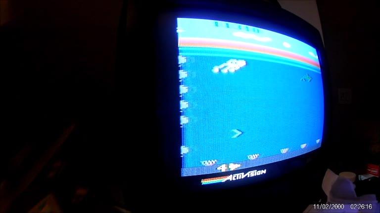 Atari 2600 / VCS - Dolphin - NTSC - Game 1, Difficulty B - 299,990 - Rudy Ferretti