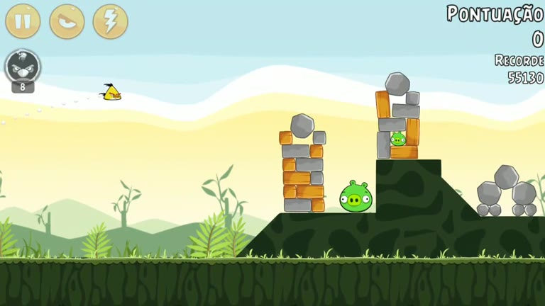 Android - Angry Birds - Poached Eggs - 2-8 - 57,730 - Rodrigo Lopes